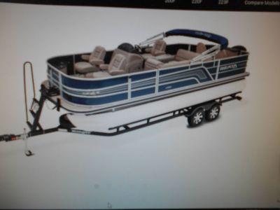 2018 Ranger Reata 220F Pontoons Boats Eastland, TX
