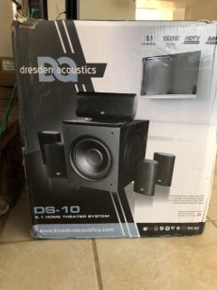 HOME THEATER SUROUND SOUND SYSTEM