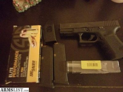 For Sale/Trade: Glock 32 /357sig with 9mm conversion