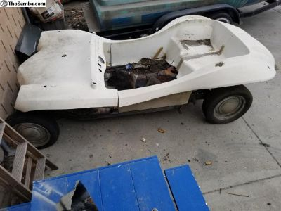 1969 OCELOT dune buggy project