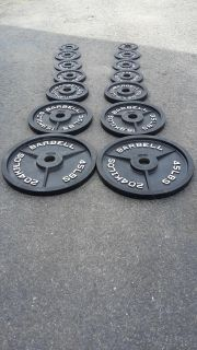 Olympic Plates-2555lbs