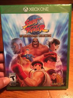 XBOX ONE Street fighter 30th Anniversary collection UNOPENED