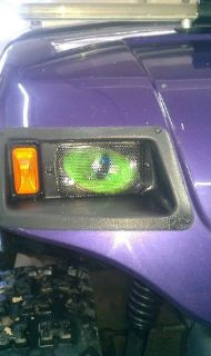 Sell CLUB CART GOLF CART GREEN Eyes DragStrip camping RuKindCover's HeadLight Covers motorcycle in Medina, Ohio, United States, for US $15.00