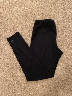 Champion DUO DRY Black Yoga Pants