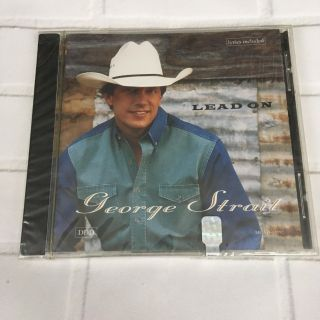 George Strait CD Lead On New and Sealed