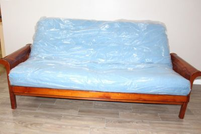Futon in EXCELLENT condition! mattress included