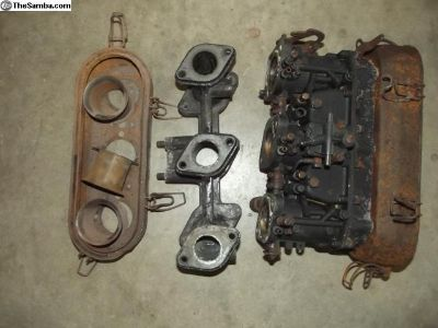 Porsche 911 Zenith Carburetor, Manifold and Parts