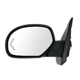Purchase Mirror Power Heated Signal Puddle PTM Driver Side Left for Chevy GMC Pickup SUV motorcycle in Gardner, Kansas, US, for US $139.90