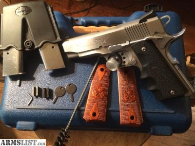 For Sale: Springfield Armory Loaded Champion Stainless Commander with night sights