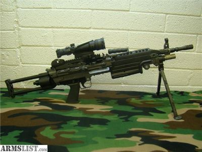 For Sale: FNH M249S Para with Trijicon ACOG