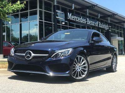 2017 Mercedes-Benz C-Class (Lunar Blue Metallic)