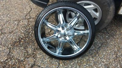 20in rims and tires