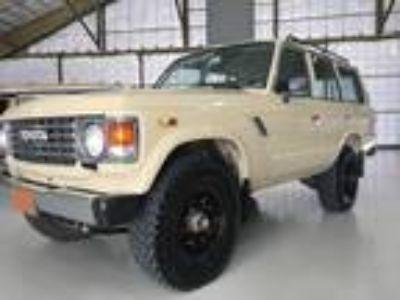 1986 Toyota Land Cruiser FJ60 4.2L