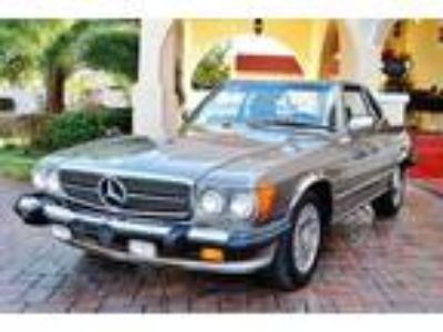 1987 Mercedes-Benz SL-Class 560SL Convertible