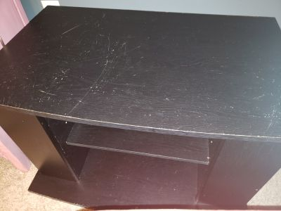 Well used TV stand