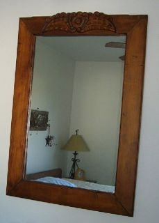 Rustic Mexican Mirror and Table