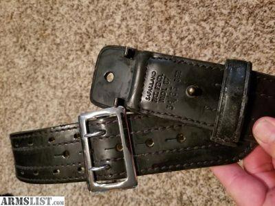 For Sale: Safariland tactical belt