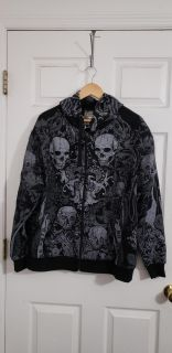 New Without Tags! Club Chaos Bike Week Jacket Size LG / XL. Excellent Condition