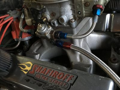 Scott Shafiroff Racing Engine