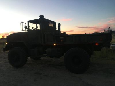 BMY 5 ton, 931A2 Cummins Turbo Military Truck Bobbed 4X4