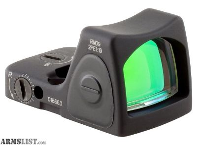 For Sale: Trijicon Trijicon RMR/Adjustable LED RMR Type MOA Adjustable LED Red Dot Sight