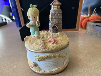 Pick up Tuesday for $20. Precious Moments Music Box