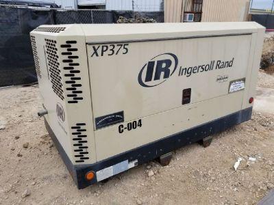 2011 Ingersoll-Rand Air Compressor XP375WJD-T3 RTR#7103167-01