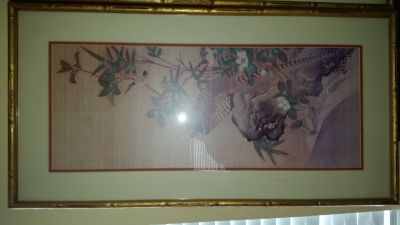 asian authentic oil painting