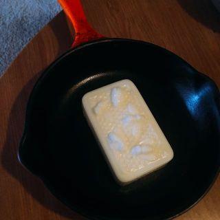 White Beeswax Cast Iron Seasoning Bars