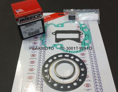 Sell Suzuki LT250R LT250 WISECO PISTON KIT +TOP END GASKETS motorcycle in San Diego, California, US, for US $148.23