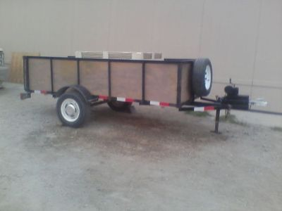 UTILITY TRAILER, 4' X 10', ALL NEW ...