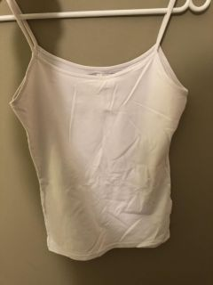 Zara White Tank Small