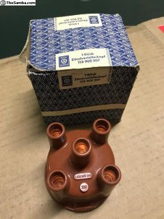 NOS VW distributor cap in original blue box