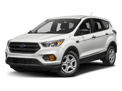 2017 Ford Escape S (White)