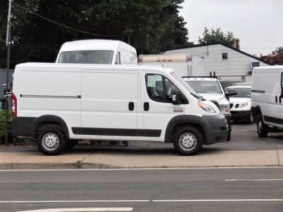 """2017 RAM ProMaster Cargo Van 1500 Low Roof 136"""" WB (Bright White Clearcoat)"""