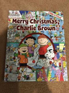 Brand new Charlie Brown look and find