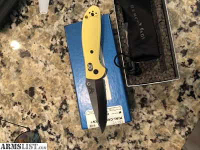For Sale: New in box benchmade mini griptillian