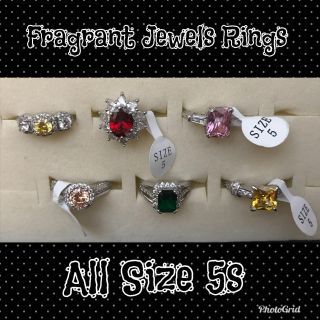 Size 5 Fragrant Jewels Rings