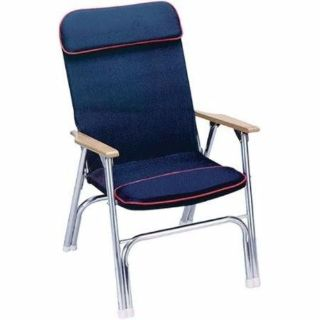 """Sell Seachoice 78511 Canvas Padded Folding Deck Chair with Red Piping 38"""" H Marine LC motorcycle in Hollywood, Florida, United States, for US $89.45"""