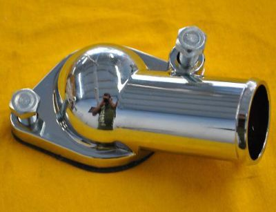 Buy Sbc Chrome Water Neck 15 Degree angle bbc Chevy Housing Small Block Big Block motorcycle in Columbus, Georgia, US, for US $10.95