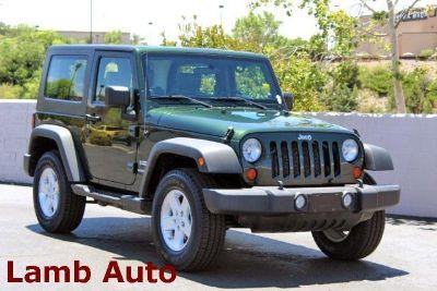 2010 Jeep Wrangler Sport (Natural Green Pearl)