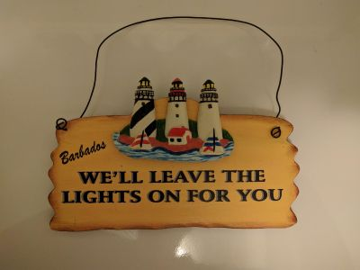 NEW! Sign from Barbados