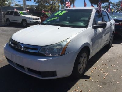2008 Ford Focus 4dr Sdn S