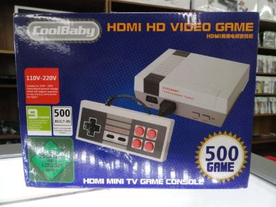 Nes Classic 500 Games HDMI and 4K (Clone)