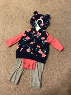 3 months Carter s 3 piece outfit
