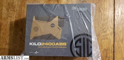 For Sale: Sig Kilo 2400 ABS