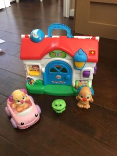 Fisher price ABC house
