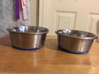 Stainless Steel pet dishes