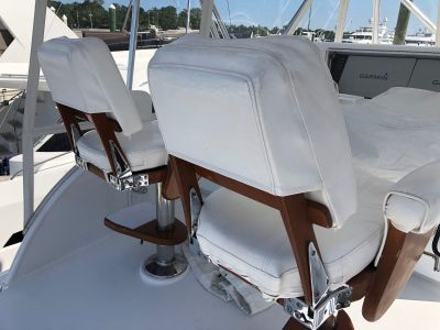2 Release Marine Helm Chairs, $4,000