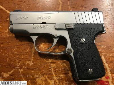For Sale: Kahr MK9 stainless 9mm night sights